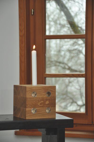 Adventkranz in Würfelform - Lichtwürfel XL