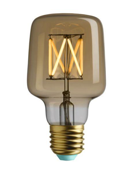 LED-Leuchtmittel Wilbur, gold
