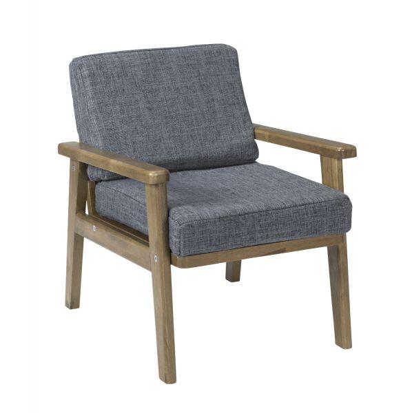 Loungechair im Retrostil