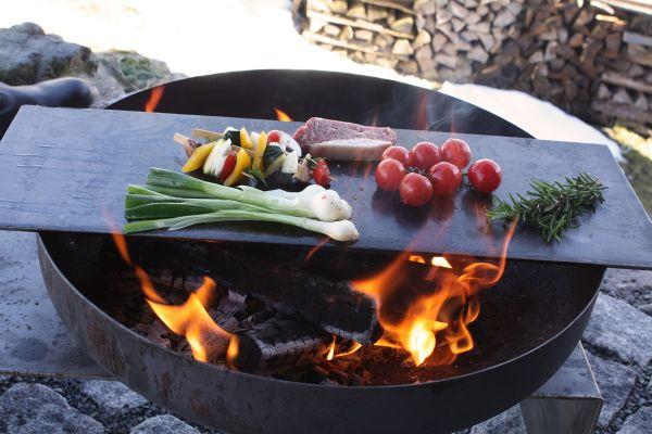 Raumgestalt - Teppanyaki-Platte für die Feuerschale