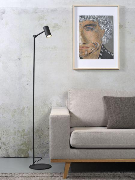 Stehlampe Montreux, schwarz