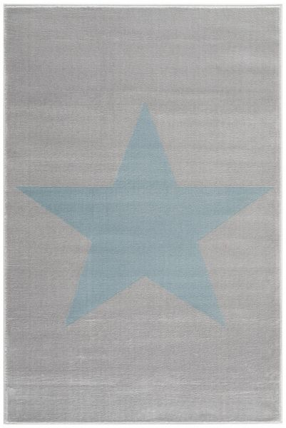 "Teppich ""shootingstar"" grau/blau"