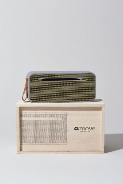 Bluetooth-Lautsprecher aMove, hellgrau