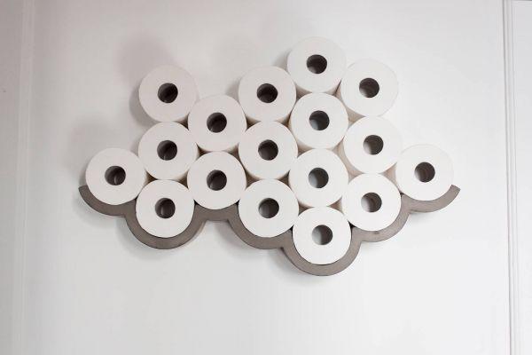 Toilettenpapierhalter Cloud aus Beton