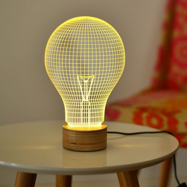 "Tischlampe ""Yellow Bulb"", Studio Cheha"