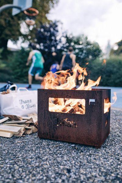 Beer Box höfats, Feuerkorb