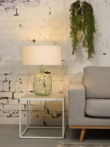 Tischlampe Murano, weiß