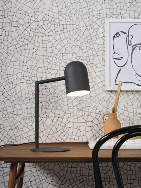 Tischlampe Marseille, schwarz