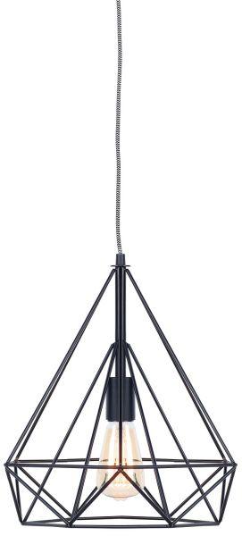 Deckenlampe Antwerp, schwarz