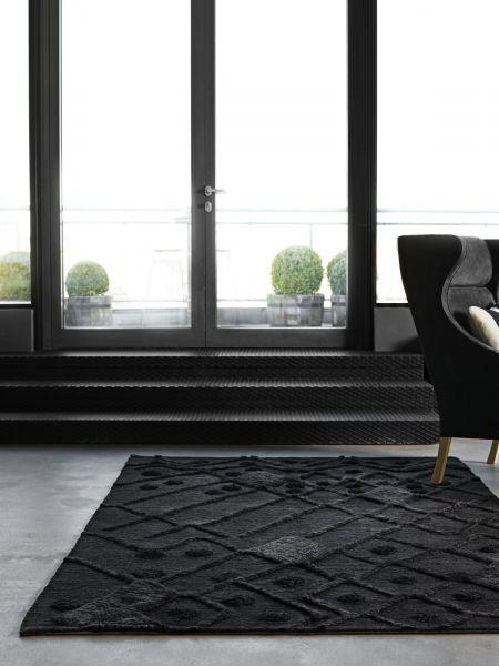 Bur-Bur. Handgeknüpfter Teppich aus Wolle.