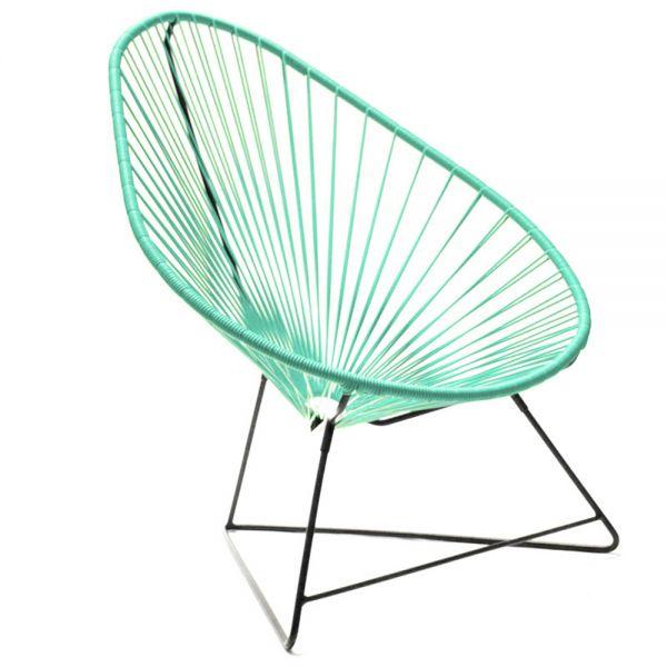 Acapulco chair, türkis