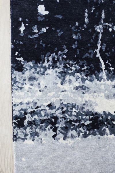 "Teppich ""Stardust"", blau. massimo copenhagen"