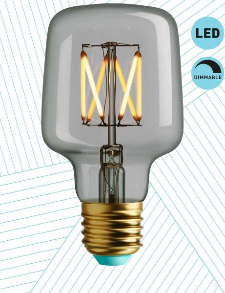 LED Leuchtmittel Wilbur, Klarglas