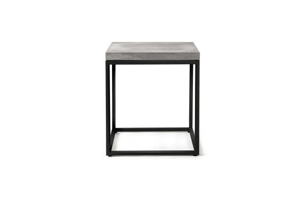 Möbel aus Beton - Beistelltisch Perspective, black edition