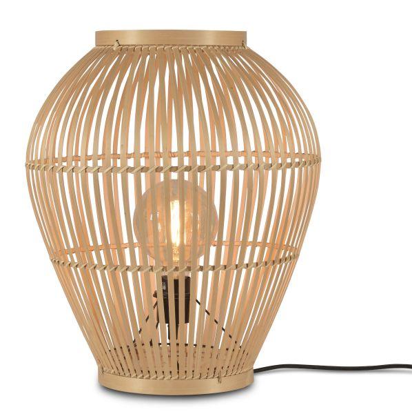 Stehlampe Tuvalu aus Bambus (S)