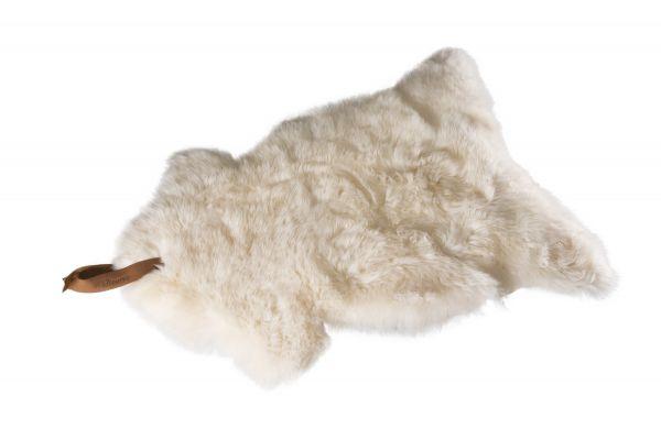 Schafsfell weiß