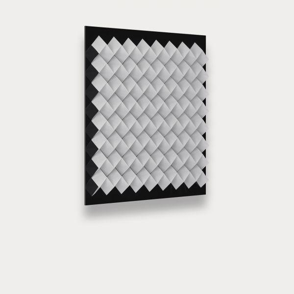 Foldart Paperfold weiß. Basis Acryl, schwarz