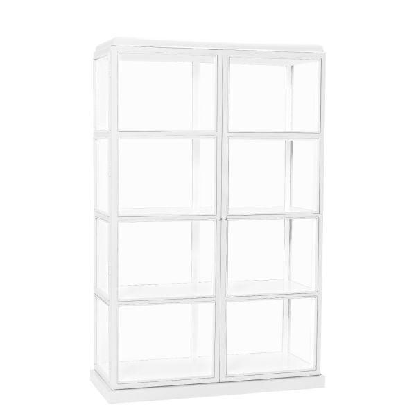 Glasvitrine weiß, Hübsch Interior