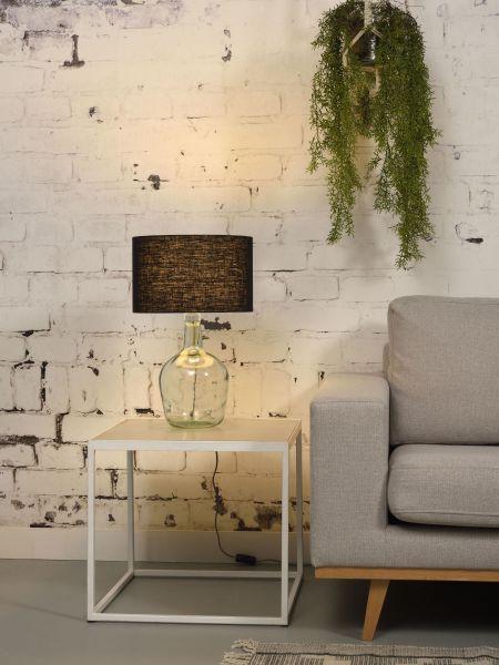 Tischlampe Murano, schwarz